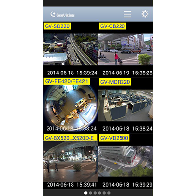 GV-Eye for Android - Mobile App - Video Management Software