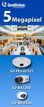5 Megapixel Fisheye, Mini Fixed Dome and Box camera