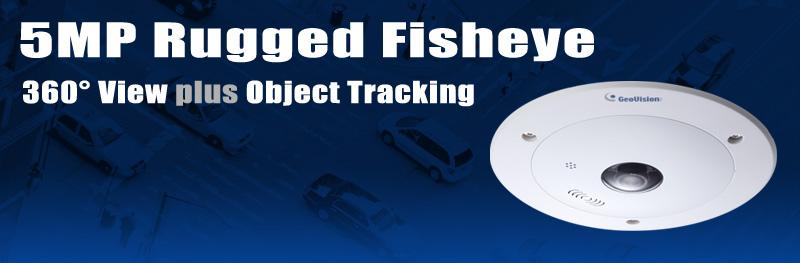 Newsletter - 5-Megapixel Rugged Fisheye 360° View PLUS