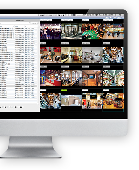 geovision-NAS designed for IP camera Installer welcomed to